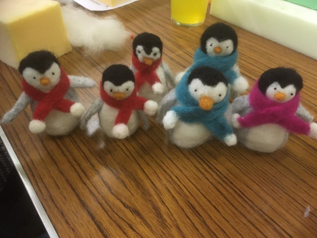 Felt-Penguins